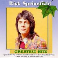 [Rick Springfield Greatest Hits (70s) Album Cover]