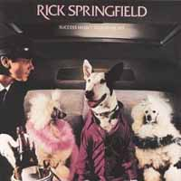 Rick Springfield Success Hasn't Spoiled Me Yet Album Cover