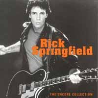 [Rick Springfield The Encore Collection Album Cover]