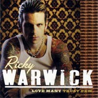 [Ricky Warwick Love Many, Trust Few Album Cover]
