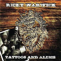 [Ricky Warwick Tattoos and Alibis Album Cover]