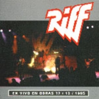 [Riff En Vivo En Obras Album Cover]