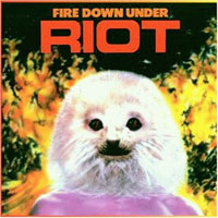[Riot Fire Down Under Album Cover]