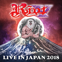 [Riot V - Live in Japan 2018 Album Cover]