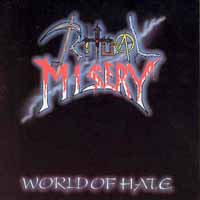[Ritual Misery World Of Hate Album Cover]