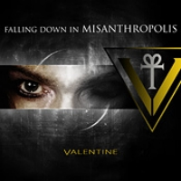[Robby Valentine Falling Down In Misanthropolis Album Cover]