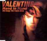[Robby Valentine Hand In Hand (We Keep The Faith Alive) Album Cover]
