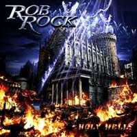 [Rob Rock Holy Hell Album Cover]
