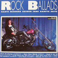 [Compilations Rock Ballads Album Cover]