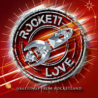 Rockett Love Greetings from Rocketland Album Cover