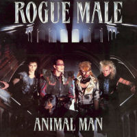 [Rogue Male Animal Man Album Cover]