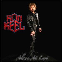 [Ron Keel Alone At Last Album Cover]