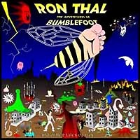 [Ron Thal The Adventures of Bumblefoot Album Cover]