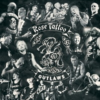 [Rose Tattoo Outlaws Album Cover]