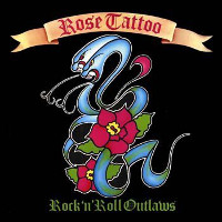 [Rose Tattoo Rock n' Roll Outlaw Album Cover]
