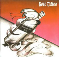 [Rose Tattoo Scarred For Life Album Cover]