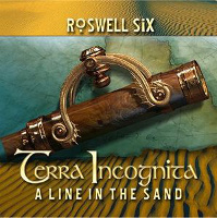 [Roswell Six Terra Incognita: A Line In The Sand Album Cover]