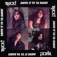 [Roxxi Drive It to Ya Hard Album Cover]