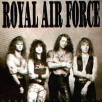 [Royal Air Force Leading The Riot Album Cover]