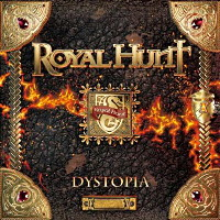 [Royal Hunt Dystopia Album Cover]