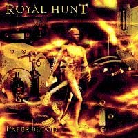 [Royal Hunt Paper Blood Album Cover]