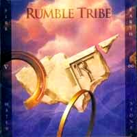 [Rumble Tribe Fire, Water, Earth and Stone Album Cover]