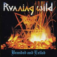 [Running Wild Branded and Exiled Album Cover]