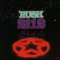[Rush 2112 Album Cover]