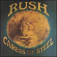 [Rush Caress of Steel Album Cover]