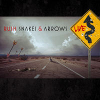 [Rush Snakes and Arrows Live Album Cover]