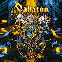 [Sabaton Swedish Empire Live Album Cover]