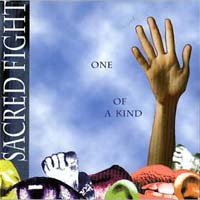 [Sacred Fight One of a Kind Album Cover]