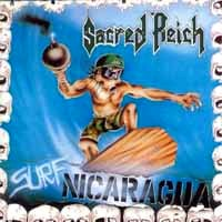 [Sacred Reich Surf Nicaragua EP Album Cover]
