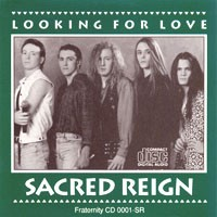 [Sacred Reign Looking For Love Album Cover]