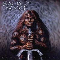 [Sacred Steel Reborn in Steel Album Cover]