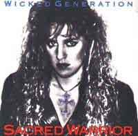 [Sacred Warrior Wicked Generation Album Cover]