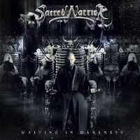 [Sacred Warrior Waiting in Darkness Album Cover]
