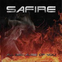 Safire All Because of You Album Cover
