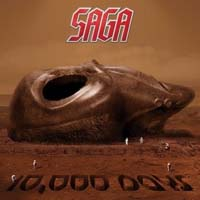 Saga 10,000 Days Album Cover