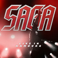 Saga Live In Hamburg Album Cover