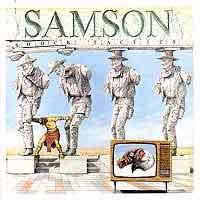 [Samson Shock Tactics Album Cover]