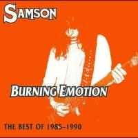 [Samson Burning Emotion: The Best of 1985-1990 Album Cover]
