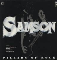 [Samson Pillars of Rock Album Cover]