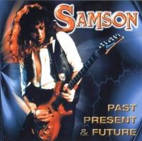 [Samson Past Present and Future  Album Cover]
