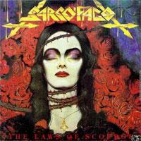 [Sarcofago The Laws of Scourge Album Cover]
