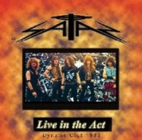 [Satan Live in the Act Album Cover]