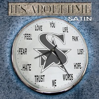 [Satin It's About Time Album Cover]