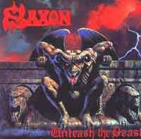 [Saxon Unleash the Beast Album Cover]