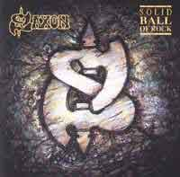Saxon Solid Ball of Rock Album Cover