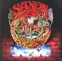 [Saxon Forever Free Album Cover]